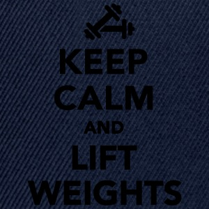 Keep calm and lift weights T-Shirts - Snapback Cap