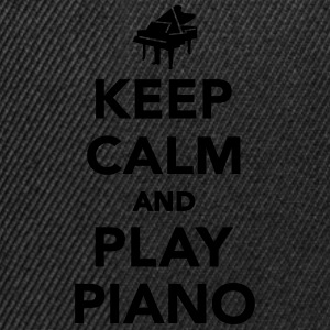 Keep calm and play piano T-Shirts - Snapback Cap