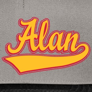 Alan - The name as a sport swash Jackets & Vests - Snapback Cap
