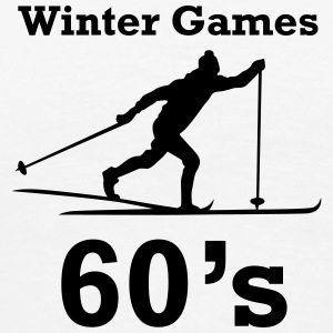 winter games 60s ski fond Hoodies & Sweatshirts - Men's Premium T-Shirt