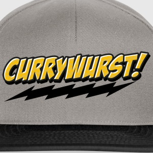 Currywurst Comic - Snapback Cap