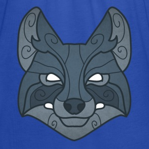 Tribal wolf mask - Women's Tank Top by Bella