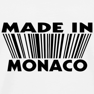 Made in Monaco 3D code Buttons - T-shirt Premium Homme