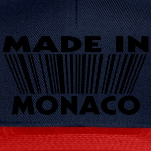 Made in Monaco 3D code Shirts - Casquette snapback