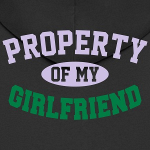 PROPERTY OF MY GIRLFRIEND Underwear - Men's Premium Hooded Jacket