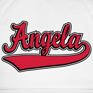 Angela - Name as a sport swash. T-Shirts - Baseball Cap