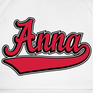 Anna - Name as a sport swash.  T-Shirts - Baseball Cap