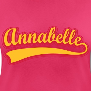 Annabelle - Name as a sport swash Long Sleeve Shirts - Women's Breathable T-Shirt