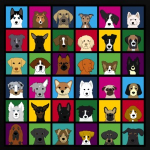 36 dogheads S T-shirts - Baby-T-shirt