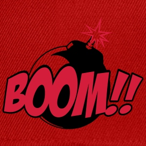 boom - comic sound T-shirts - Snapback Cap