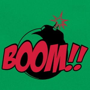 boom - comic sound Camisetas - Bandolera retro