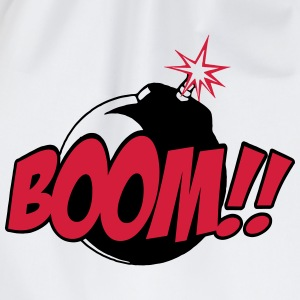 boom - comic sound T-shirts - Gymnastikpåse