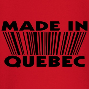Made in Quebec 3D code Sweat-shirts - T-shirt manches longues Bébé