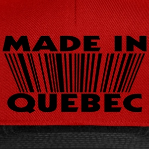 Made in Quebec 3D code Sweat-shirts - Casquette snapback