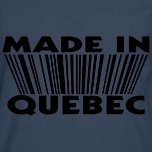 Made in Quebec 3D code Sweats - T-shirt manches longues Premium Homme