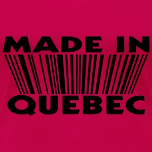 Made in Quebec 3D code Tee shirts manches longues - T-shirt Premium Femme