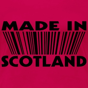 Made in Scotland 3D code Tee shirts manches longues - T-shirt Premium Femme