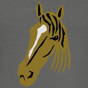 Horse Bags & backpacks - Men's Slim Fit T-Shirt