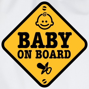 baby on board T-shirts - Gymtas