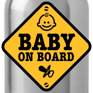 baby on board T-shirts - Drinkfles