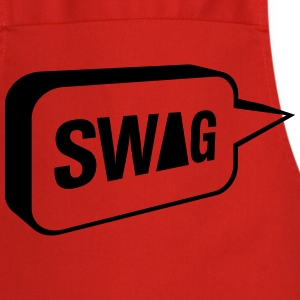 SWAG speech bubble T-Shirts - Cooking Apron