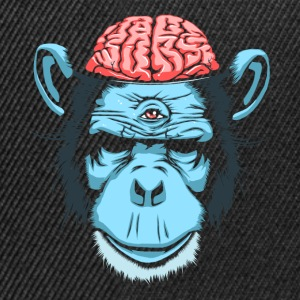 Sort Brain Chimp T-shirts - Snapback Cap