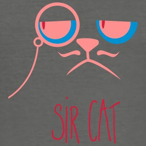 Sir cat Tasche - Männer Slim Fit T-Shirt