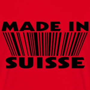 Made in suisse 3D code Sweat-shirts - T-shirt Homme