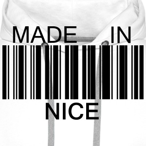 Made in Nice 06 Tabliers - Sweat-shirt à capuche Premium pour hommes
