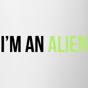 I'm an alien T-shirts - Mugg