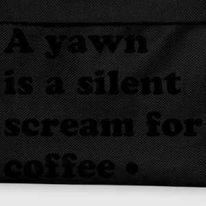 scream for coffee Magliette - Zaino per bambini