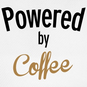 Powered By Coffee T-Shirts - Baseball Cap