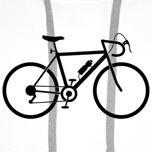 Bicycle (dd)++2014 Shirts - Men's Premium Hoodie