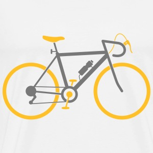 Bicycle (2c)++2014 Tröjor - Premium-T-shirt herr
