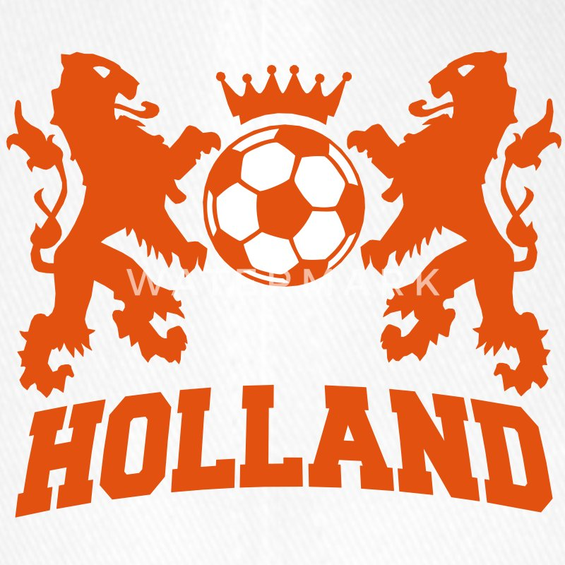 holland / nederlands elftal / the netherlands Czapki  - Czapka z daszkiem flexfit