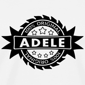 ADELE star original 1c Buttons - Men's Premium T-Shirt