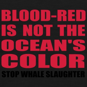 blood-red is not the ocean's color Bags & backpacks - Men's Premium T-Shirt