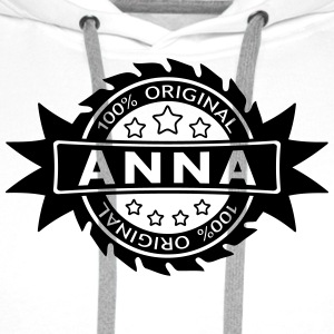 ANNA star original 1c Bottles & Mugs - Men's Premium Hoodie