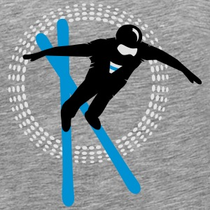 Freestyle skiing  Long Sleeve Shirts - Men's Premium T-Shirt