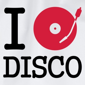 I dj / play / listen to disco - Gymtas
