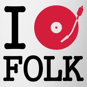 I dj / play / listen to folk - Mugg