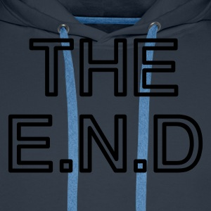 the end - Männer Premium Hoodie