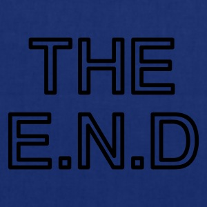 the end - Stoffbeutel