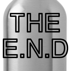 the end - Drinkfles