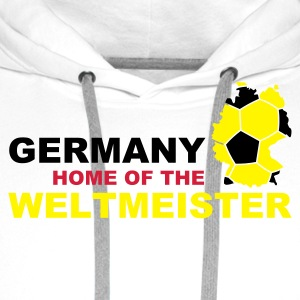 Germany - Home of the ... - Premium hettegenser for menn