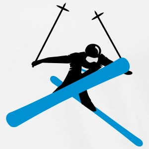 Freestyle skiing  Hoodies & Sweatshirts - Men's Premium T-Shirt