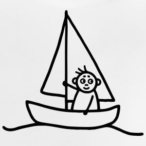 Sailing man - Sailboat Shirts - Baby T-Shirt