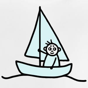 Sailing man - Sailboat - V2 Shirts - Baby T-Shirt