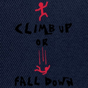 climb up Shirts - Snapback Cap