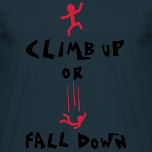 climb up Sweaters - Mannen T-shirt